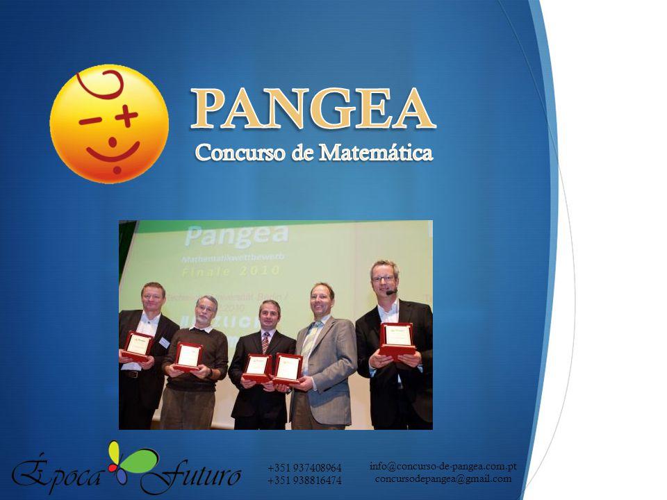 PANGEA Concurso de Matemática info@concurso-de-pangea.com.pt