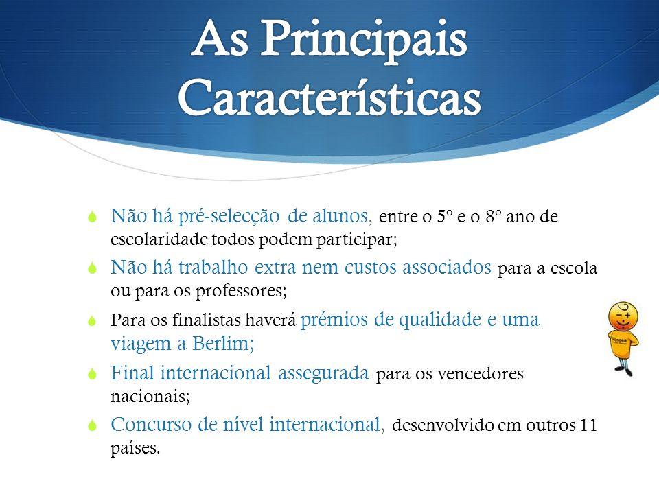As Principais Características