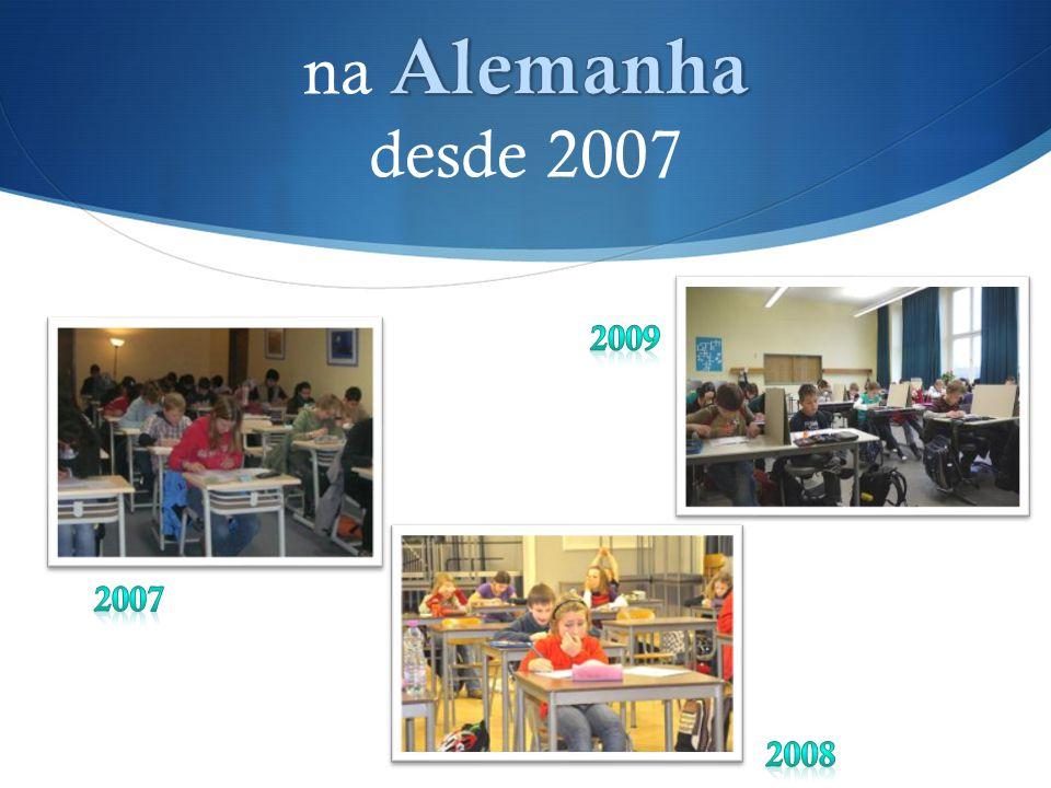 na Alemanha desde 2007 2009 2007 2008