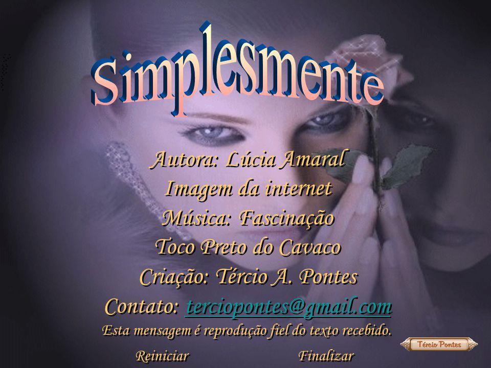Criação: Tércio A. Pontes Contato: terciopontes@gmail.com