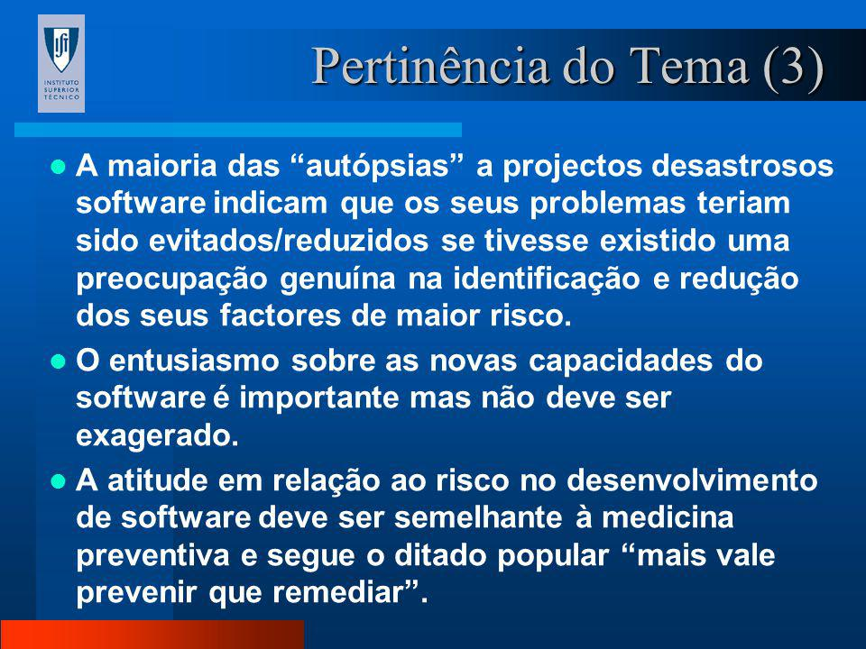 Pertinência do Tema (3)