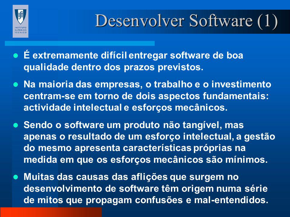 Desenvolver Software (1)