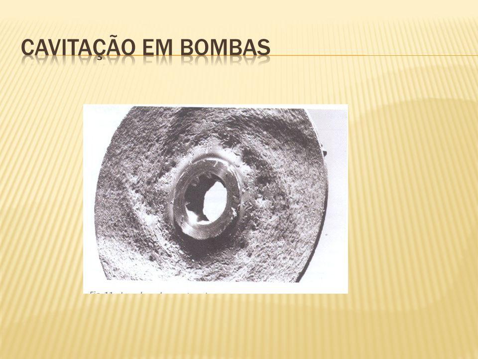 Cavitação em bombas