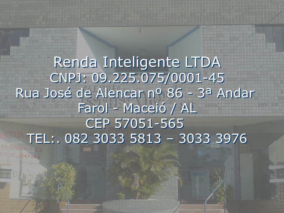 Renda Inteligente LTDA CNPJ: 09. 225