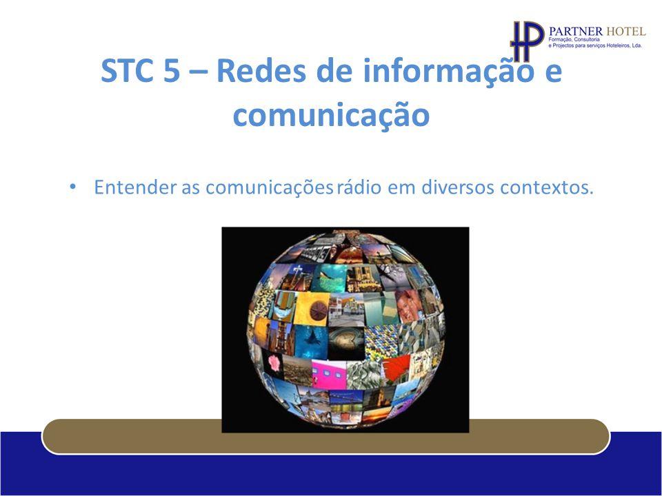 STC 5 – Redes de informação e comunicação