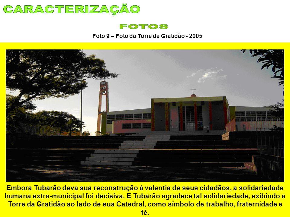 Foto 9 – Foto da Torre da Gratidão - 2005