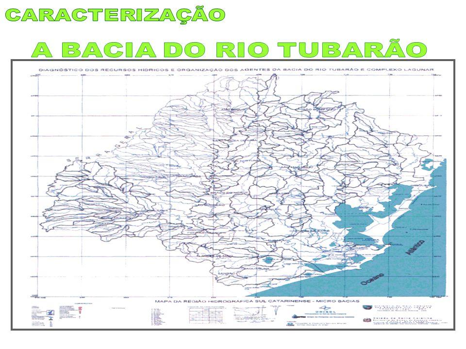 CARACTERIZAÇÃO A BACIA DO RIO TUBARÃO