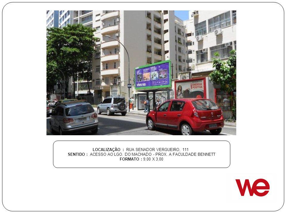 LOCALIZAÇÃO : RUA SENADOR VERGUEIRO, 111