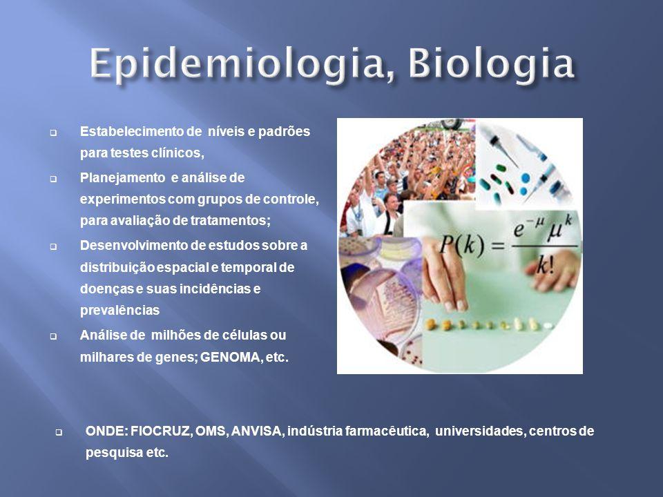 Epidemiologia, Biologia