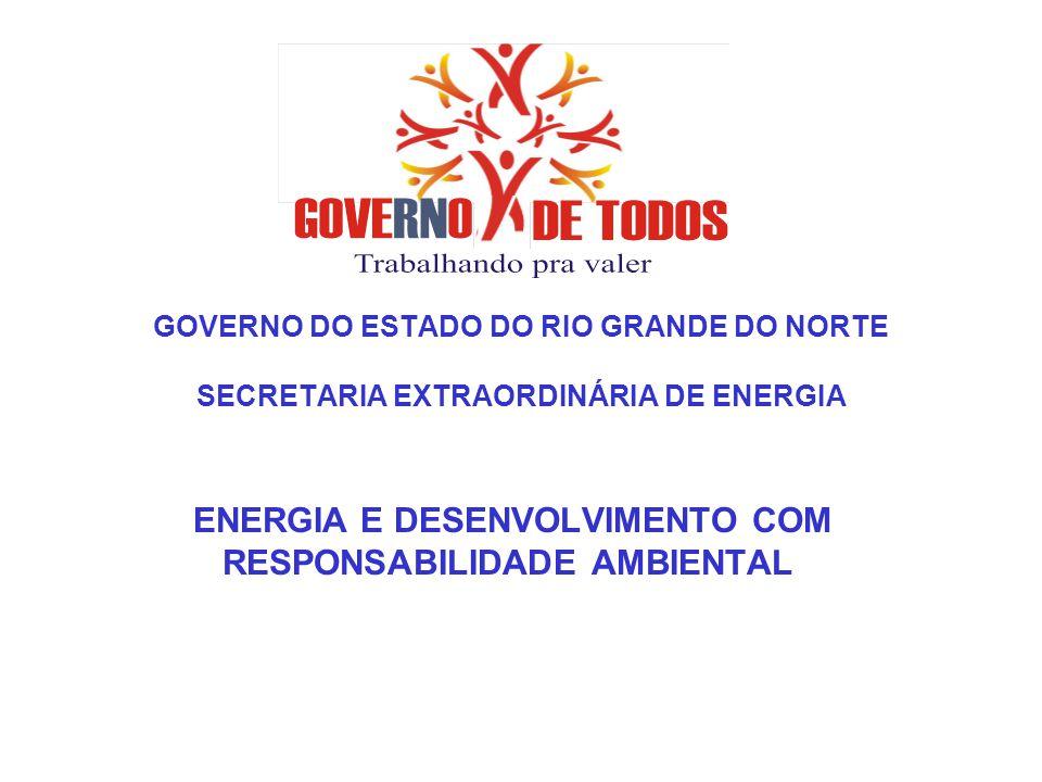 ENERGIA E DESENVOLVIMENTO COM RESPONSABILIDADE AMBIENTAL