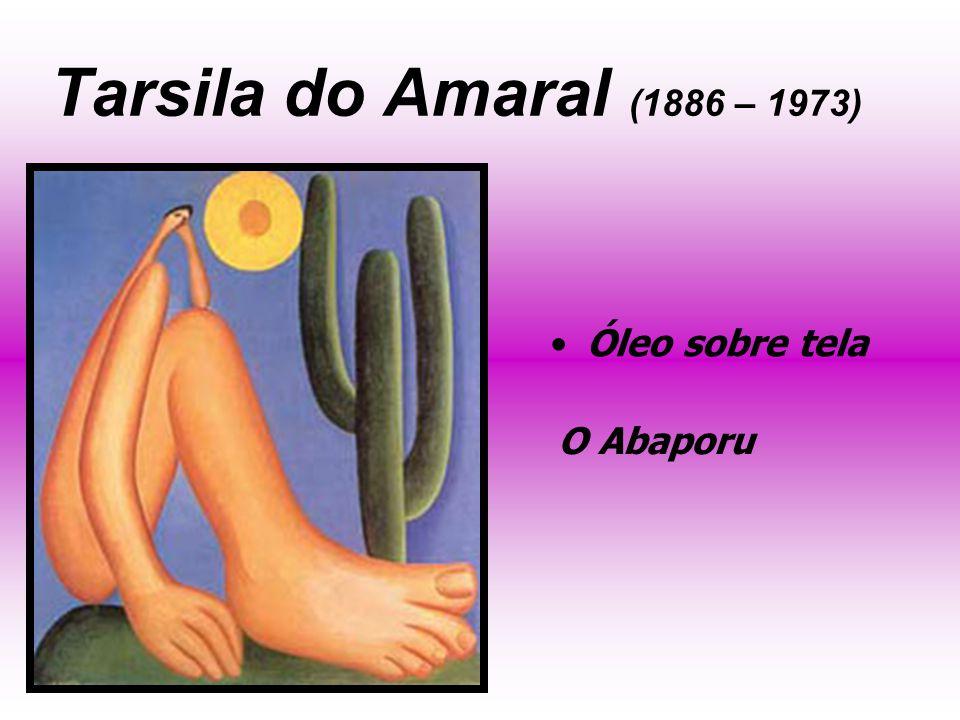Tarsila do Amaral (1886 – 1973) Óleo sobre tela O Abaporu