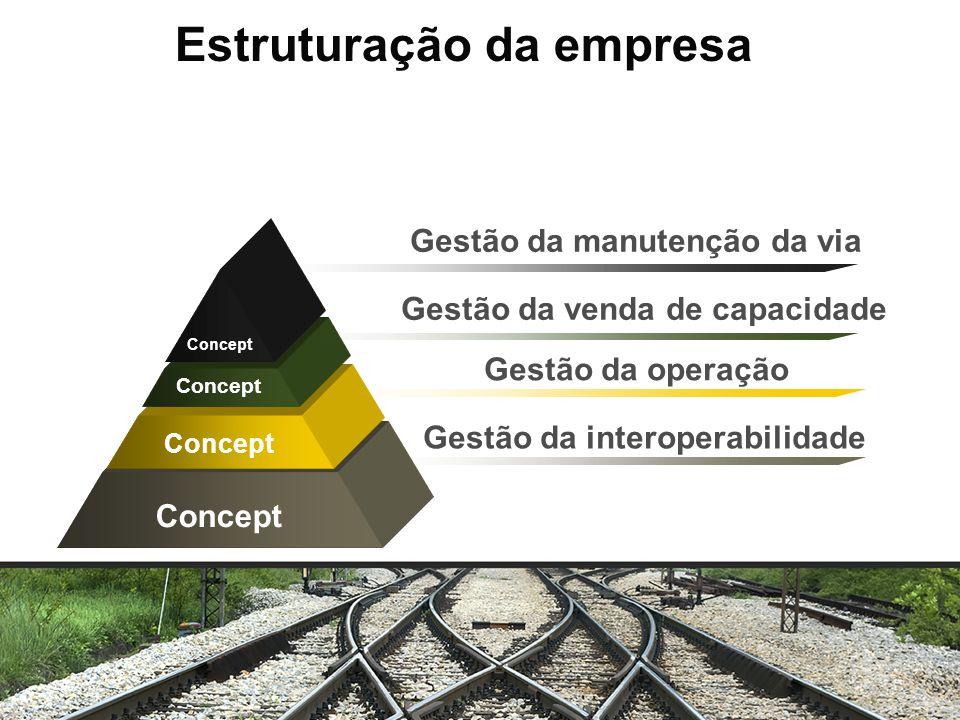 Estruturação da empresa