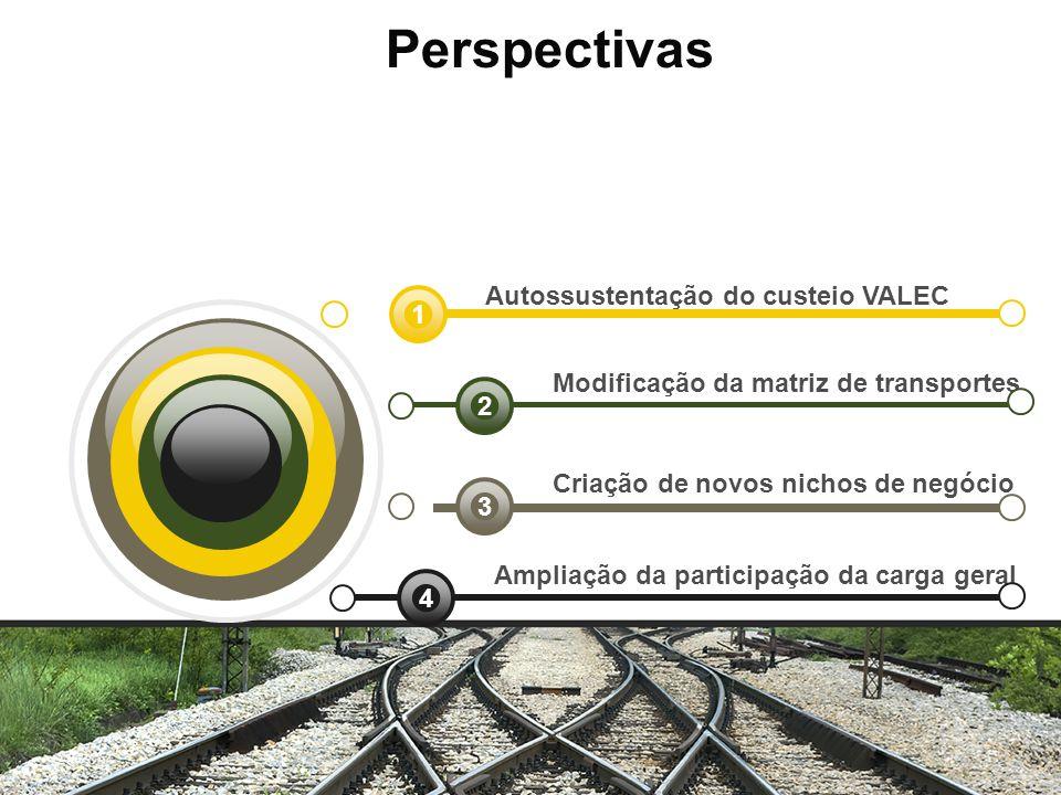 Perspectivas Autossustentação do custeio VALEC 1
