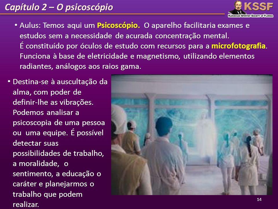Capítulo 2 – O psicoscópio