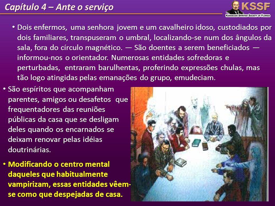 Capítulo 4 – Ante o serviço