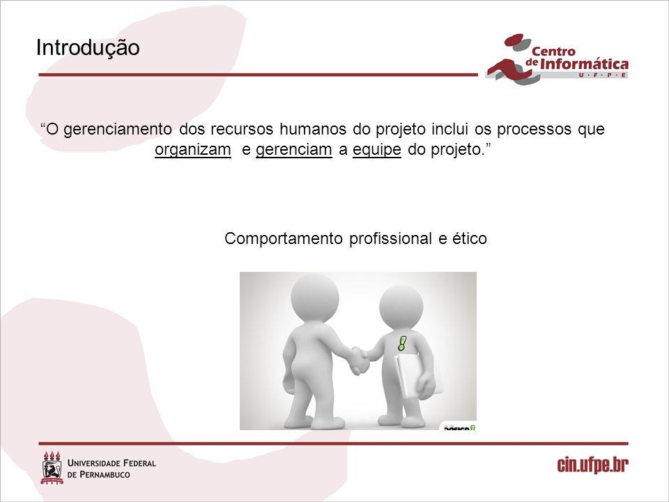 Comportamento profissional e ético