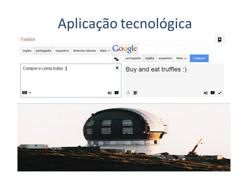 Aplicação tecnológica