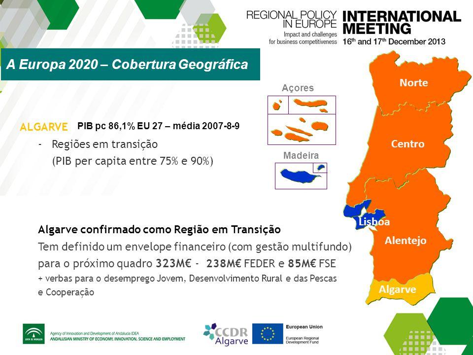 A Europa 2020 – Cobertura Geográfica