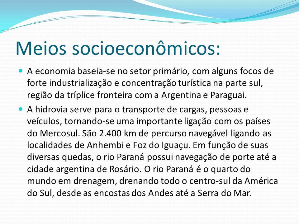 Meios socioeconômicos: