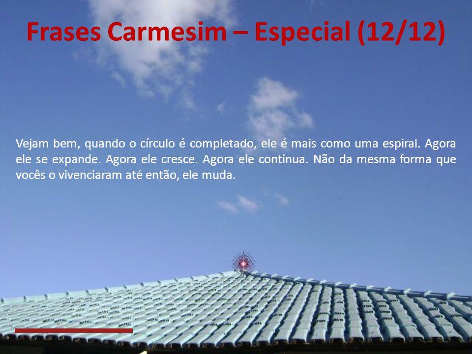 Frases Carmesim – Especial (12/12)