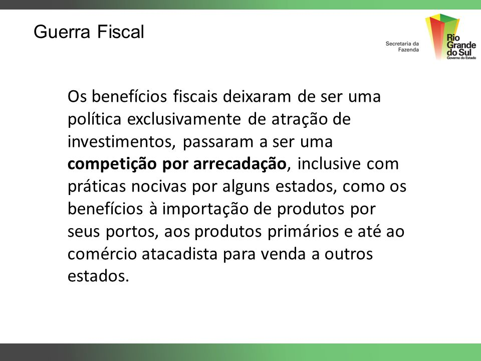Guerra Fiscal