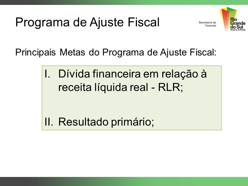 Programa de Ajuste Fiscal