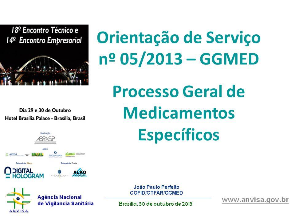 Orientação de Serviço nº 05/2013 – GGMED