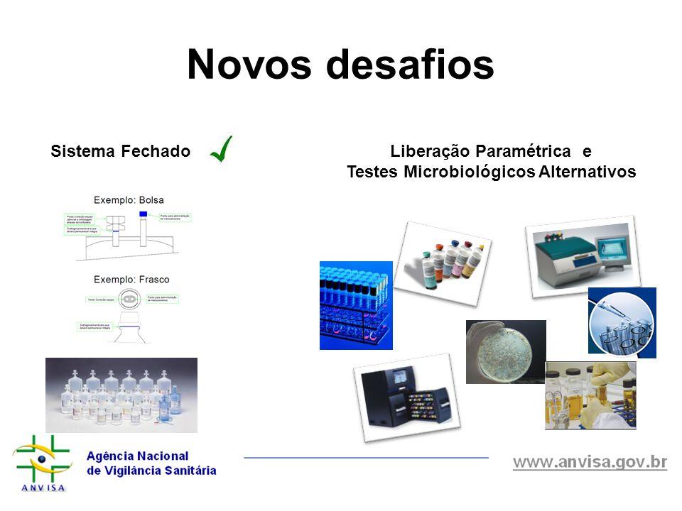 Liberação Paramétrica e Testes Microbiológicos Alternativos