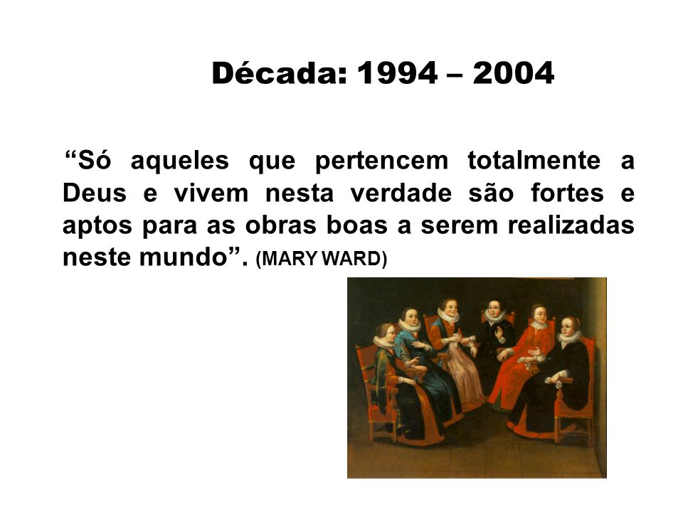 Década: 1994 – 2004