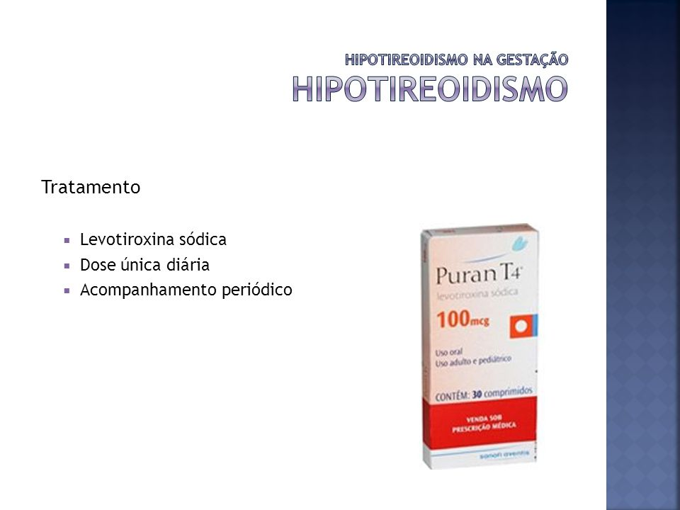 HIPOTIREOIDISMO NA GESTAÇÃO hipotireoidismo