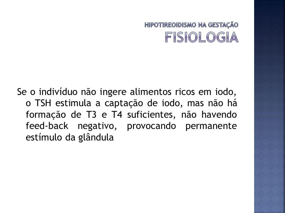 HIPOTIREOIDISMO NA GESTAÇÃO FISIOLOGIA