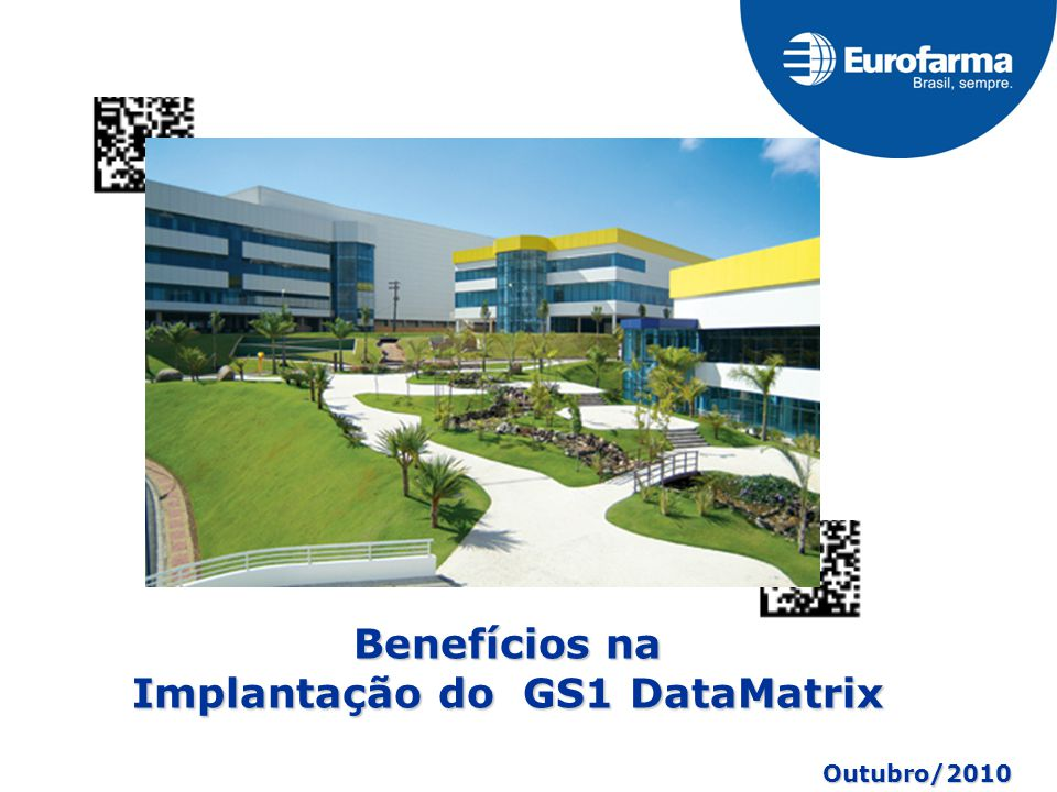 Implantação do GS1 DataMatrix