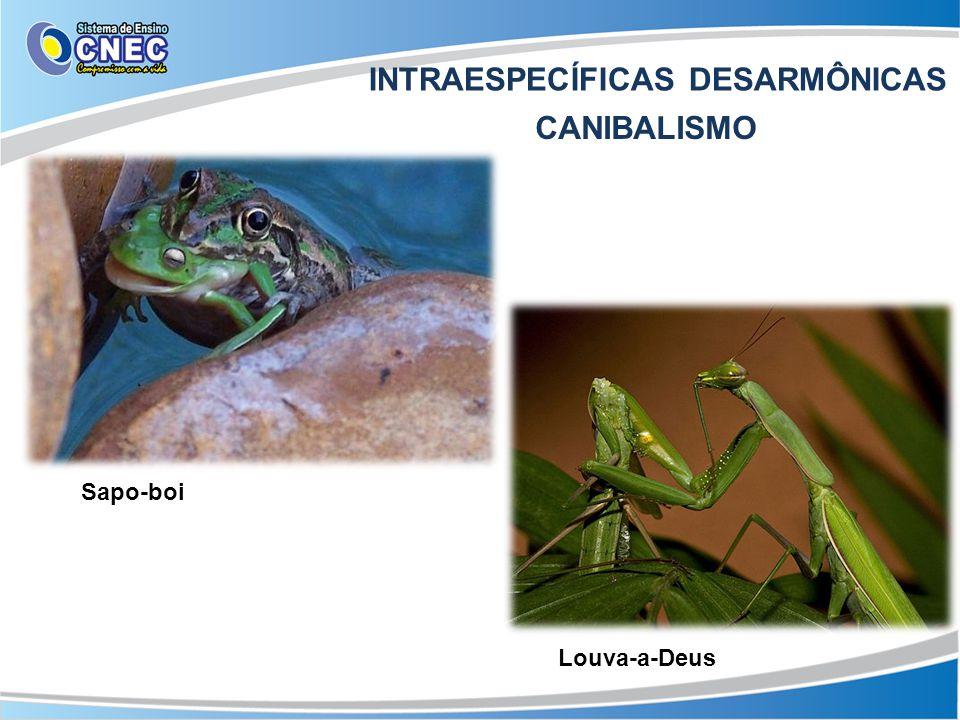 INTRAESPECÍFICAS DESARMÔNICAS