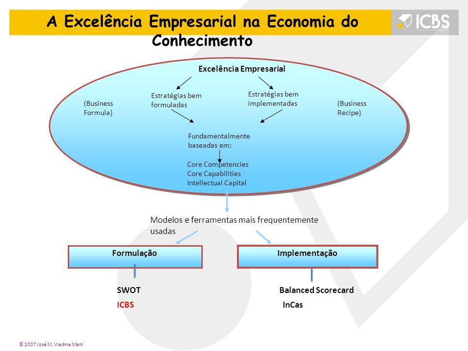 A Excelência Empresarial na Economia do Conhecimento