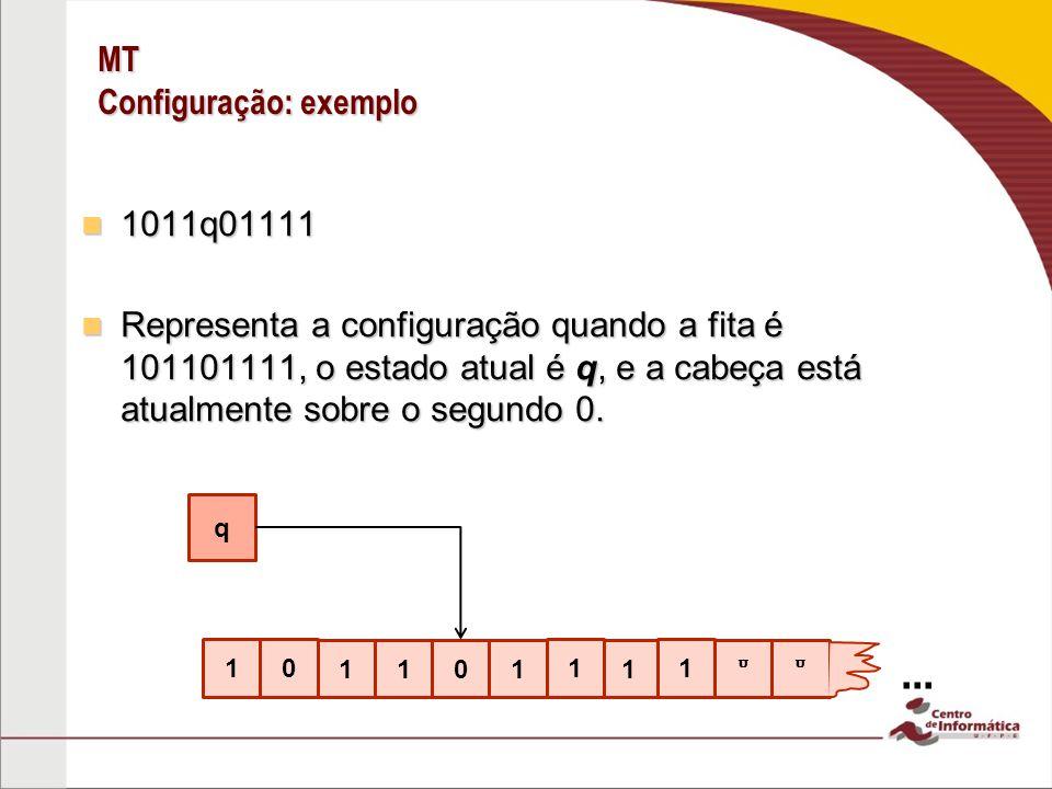 MT Configuração: exemplo