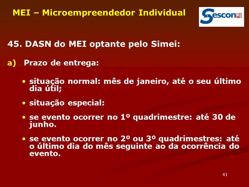 MEI – Microempreendedor Individual