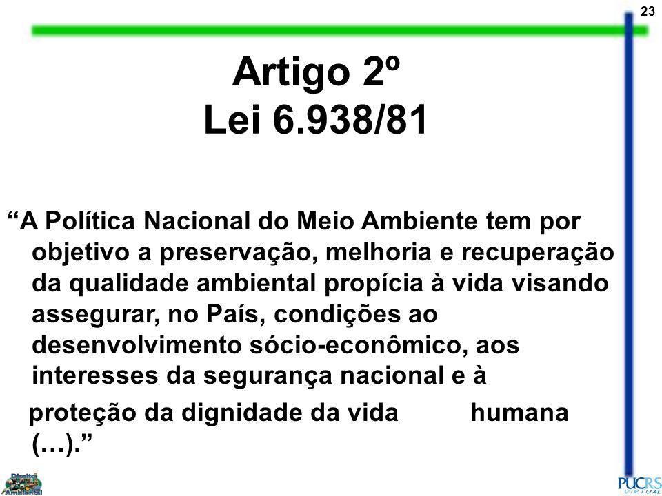 Artigo 2º Lei 6.938/81