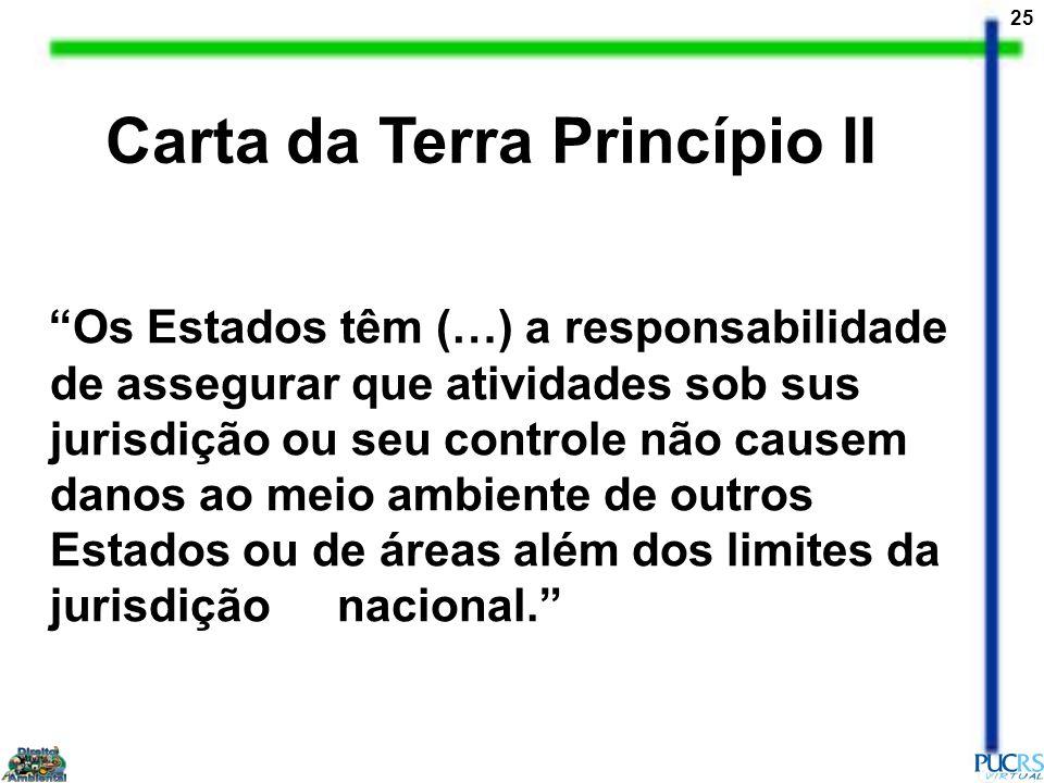 Carta da Terra Princípio II