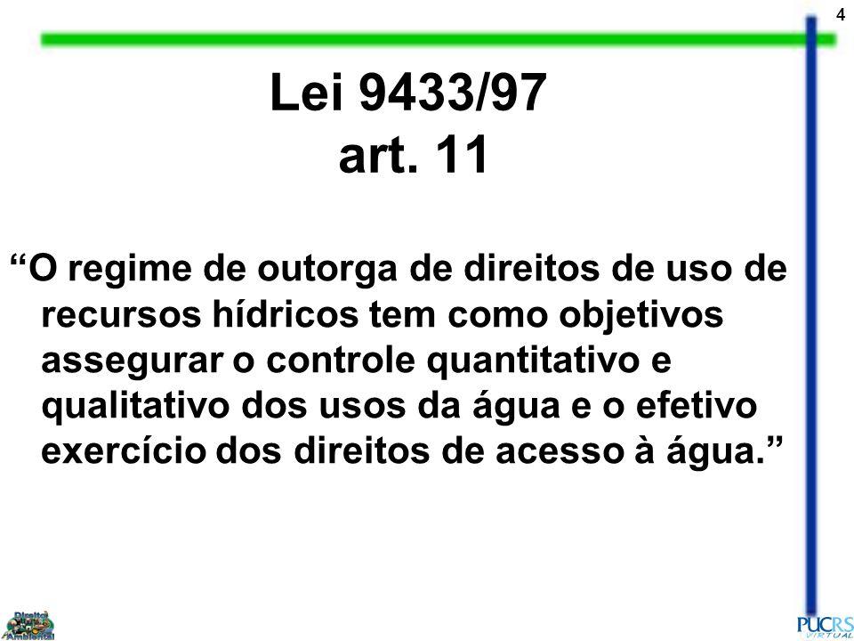 Lei 9433/97 art. 11