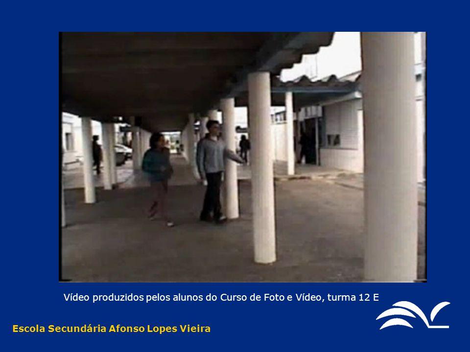 Vídeo produzidos pelos alunos do Curso de Foto e Vídeo, turma 12 E