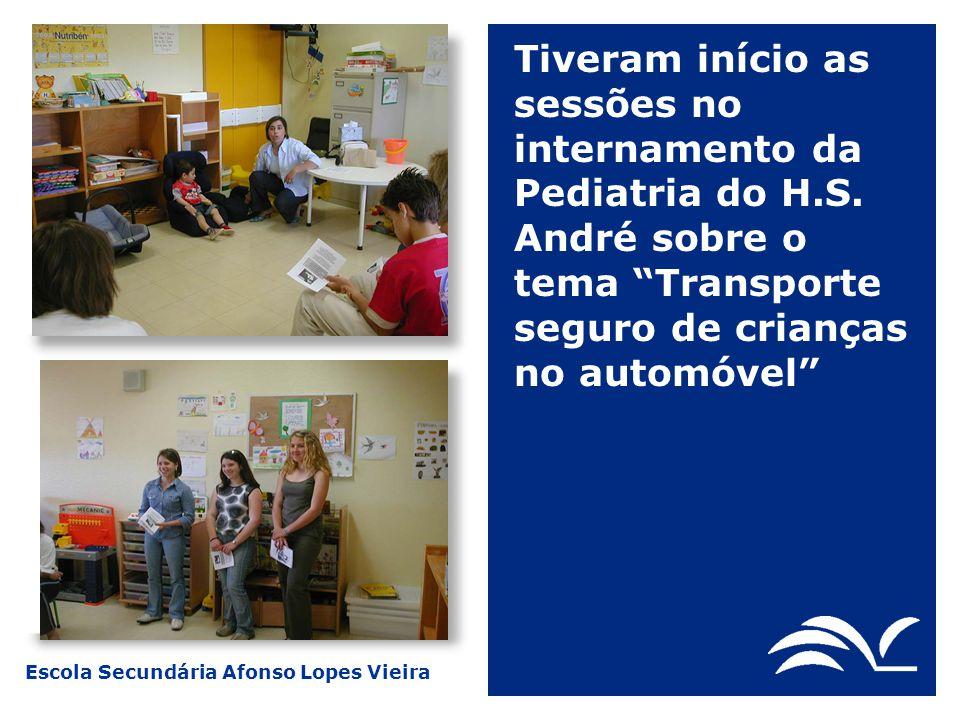 Tiveram início as sessões no internamento da Pediatria do H. S