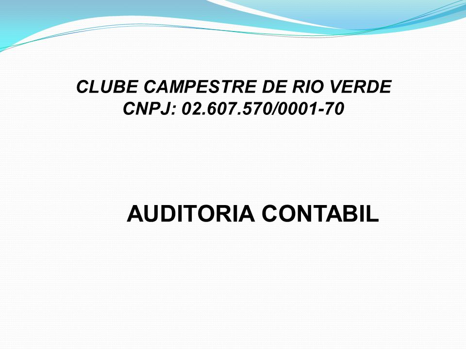 CLUBE CAMPESTRE DE RIO VERDE