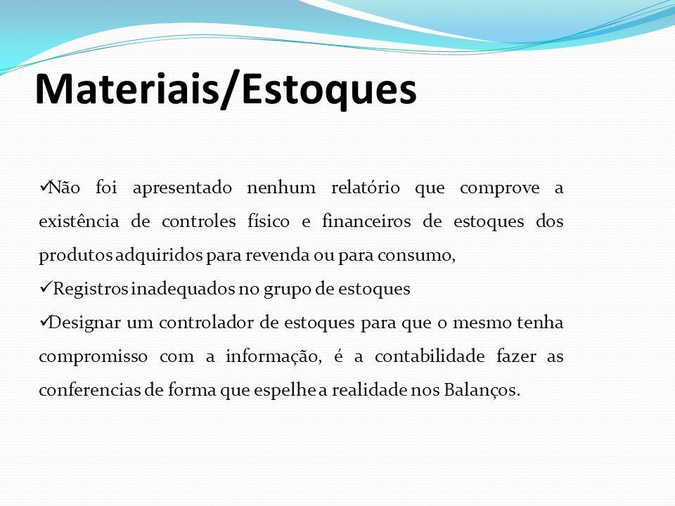 Materiais/Estoques