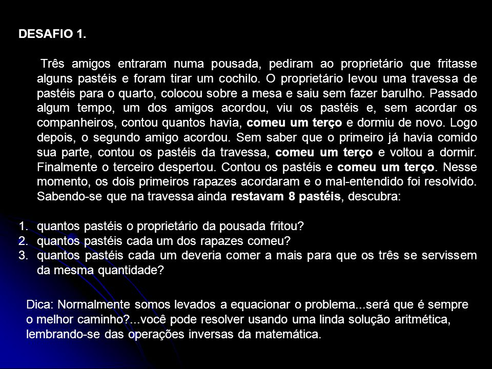 DESAFIO 1.