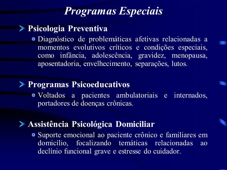 Programas Especiais Psicologia Preventiva Programas Psicoeducativos