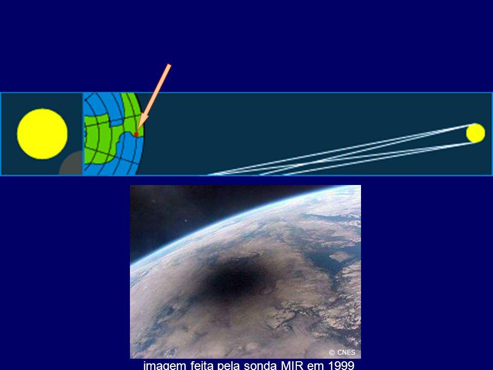 imagem feita pela sonda MIR em 1999
