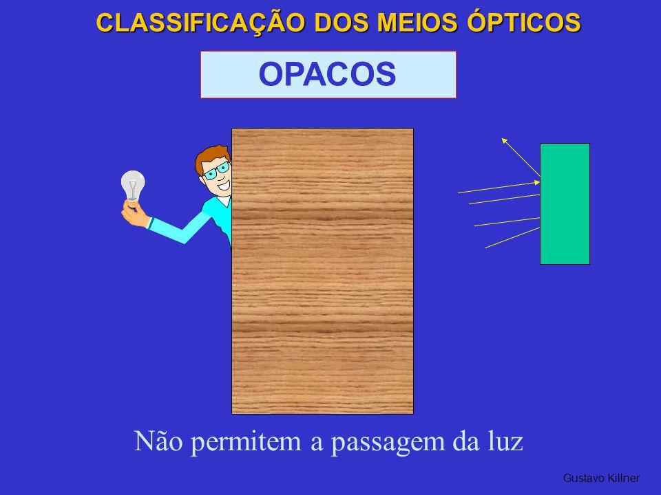 CLASSIFICAÇÃO DOS MEIOS ÓPTICOS