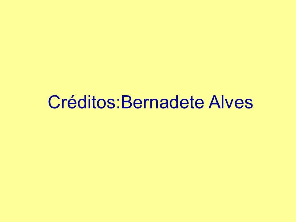 Créditos:Bernadete Alves