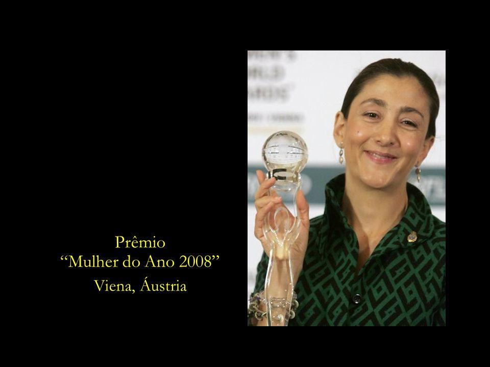 Prêmio Mulher do Ano 2008 Viena, Áustria