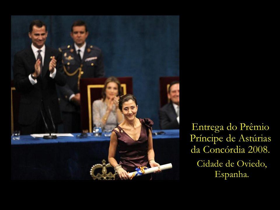 Entrega do Prêmio Príncipe de Astúrias da Concórdia 2008.